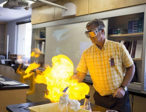 Scott Bucher aims to teach life lessons through chemistry
