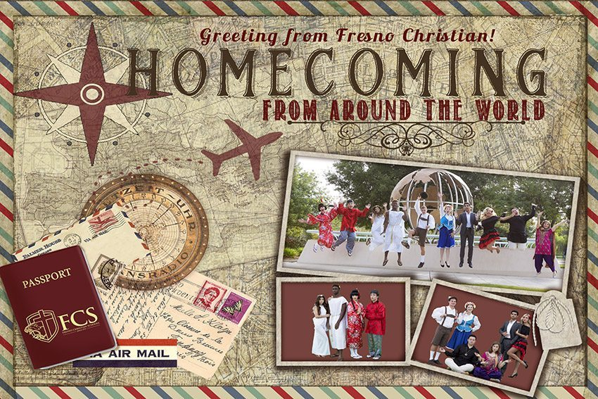 Campus prepares for 'Homecoming from around the world'