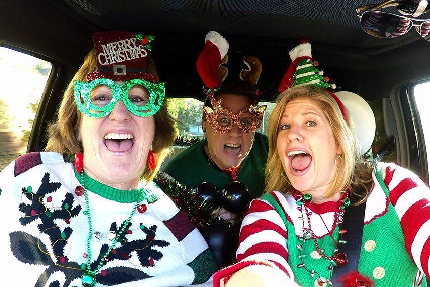 Carpool Karaoke - Christmas Edition - The Feather Online