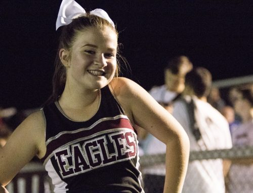 Profile: Carlee Whipple leads cheer team with passion, experience