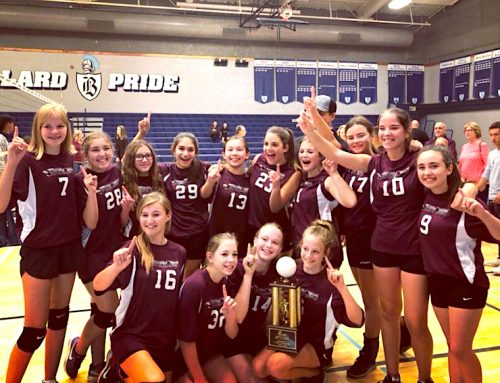 JH volleyball wins Fresno Unified Division II Championship