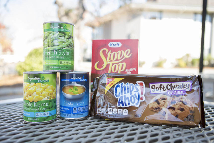Cans Food Drive School