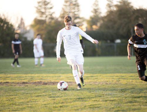 Seniors show skill, dedication on the soccer field