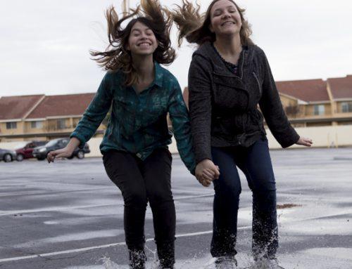 Rain brings joy
