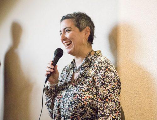 Denise Kiernan lectures at SJV Town Hall