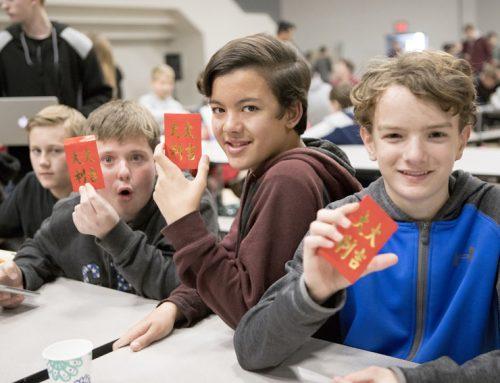 Campus celebrates Chinese New Year