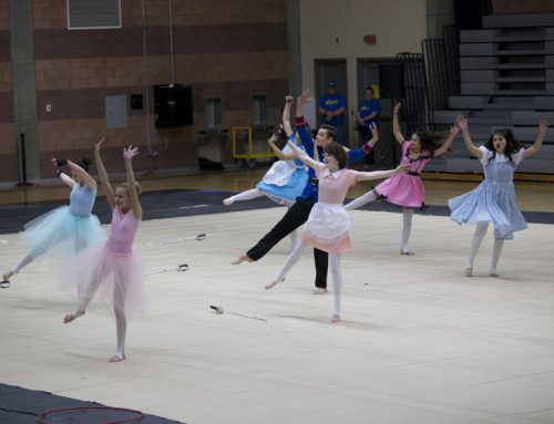 Winter guard places 4th in Regional Bronze Division tournament