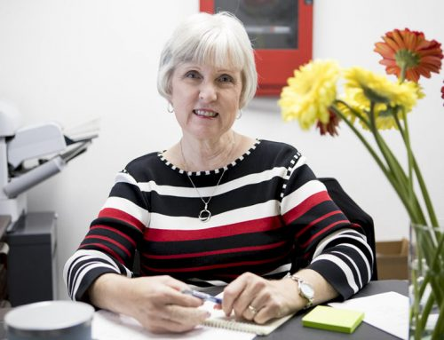 Brenda Warkentin retires after 34 years of campus service