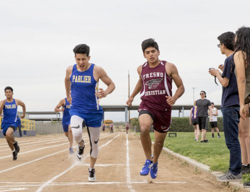 Track and field informational meeting held at lunch, Jan. 17