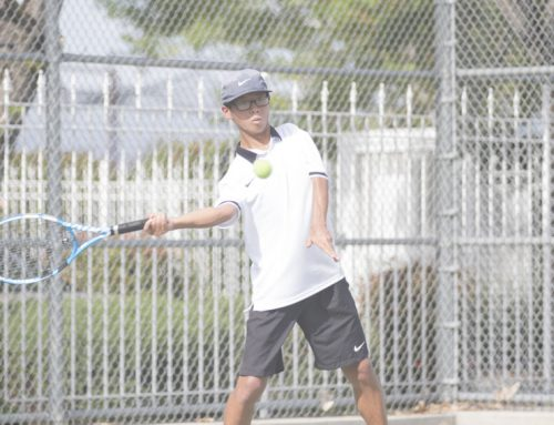 John Monke prepares for final run at tennis Valley title