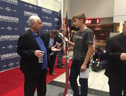 Cast of Unbroken: Path to Redemption provide closure to WWII veteran