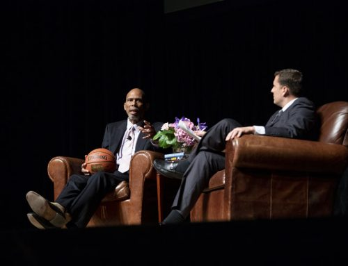 Kareem Abdul-Jabbar proves leadership on and off the court