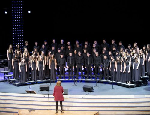 Landon Goldsborough, Alina Ochoa demonstrate potential of campus choir