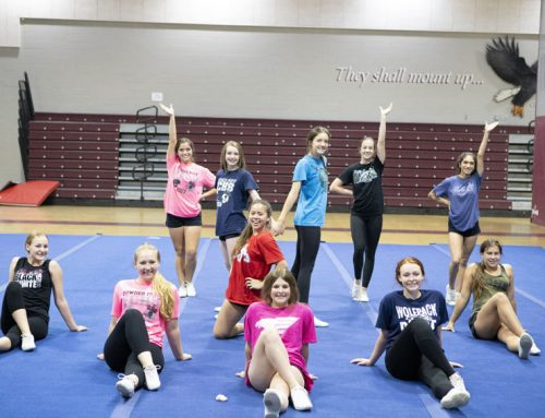 Promo: Campus cheer teams to compete in Clovis Pep Classic, Jan. 26