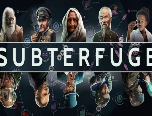 Subterfuge provides strategic challenge, team building with players