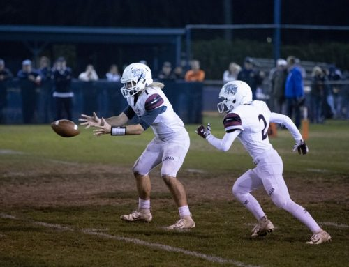Football defeated by Mission Prep in D-VI Valley Championship