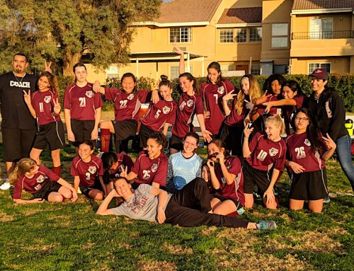 Junior high girls soccer reflect on season