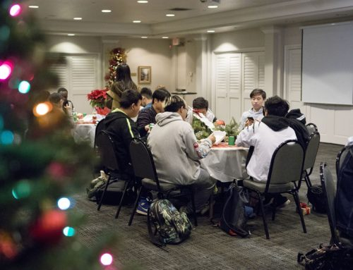 International students experience Christmas traditions