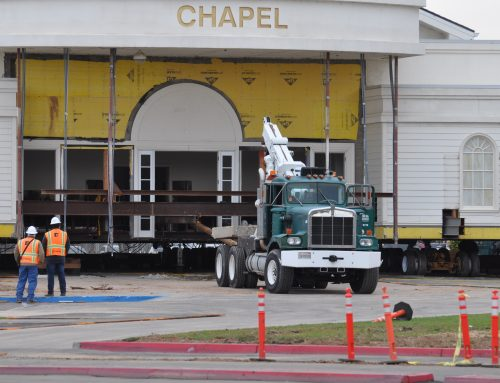 GL Johnson Chapel on the move