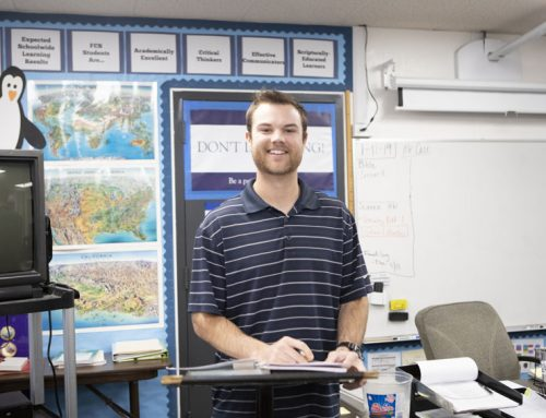 Nathan Case shares passion for teaching, influences students