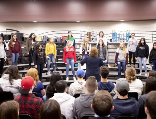 HS ensemble, Berean Christian Schools participate in choir exchange