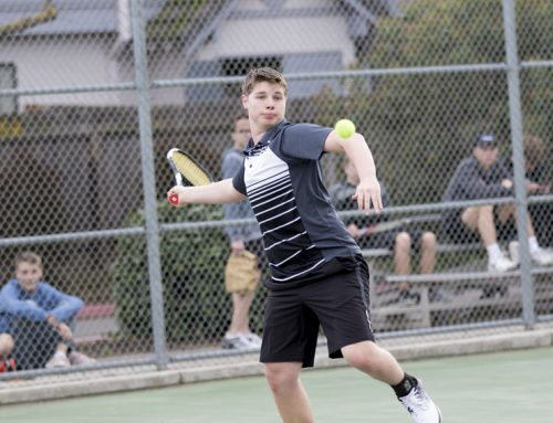 Brown leads tennis team toward Valley championship