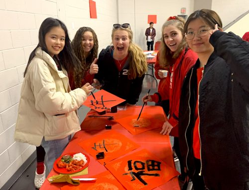 Campus students celebrate Chinese New Year, Feb. 5