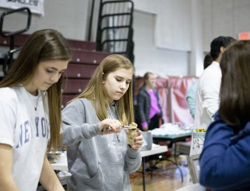 Annual Econ Fair offers products made by senior class