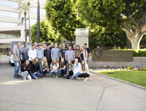 Feather staff take deluxe Warner Bros. tour