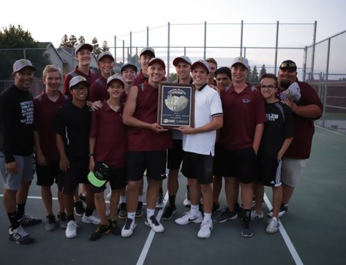 Boys tennis wins Valley championship