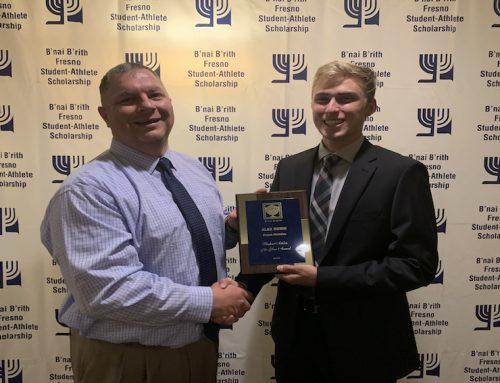 B'nai B'rith awards ceremony recognizes students' athletic achievements