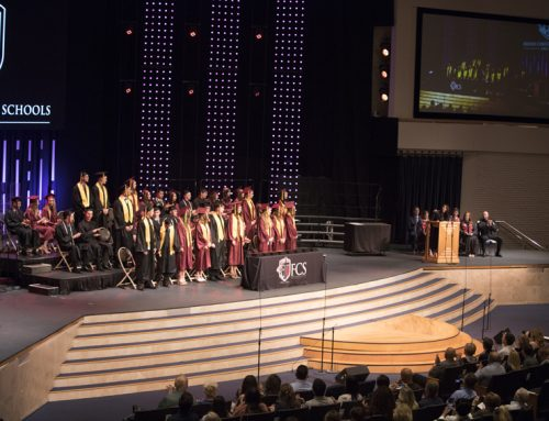 38th annual campus graduation ceremony