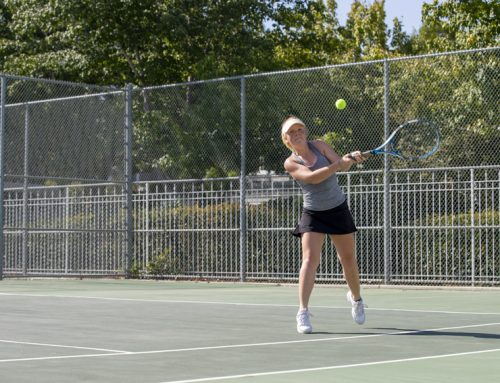 Jayna Roseno leads tennis team via encouragement, work ethic