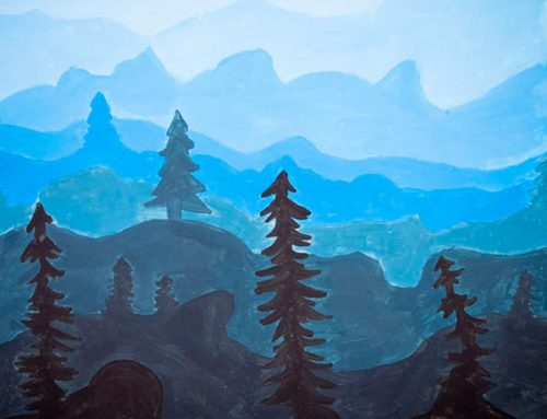 Feature art No. 7, 2019-20 — Monochromatic Landscape