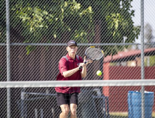 Braden Bell leads tennis team, aims to persevere through crisis